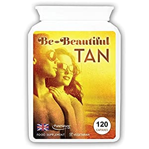 51836B%2B75oL. SS300  - Bronze Tanning Pills, Beta Carotene Tanning Capsules with Natural Mixed Carotenoids & Astaxanthin | Use with or Without Sun for a Healthy, Safe Tan | Suitable for Vegetarians (120)