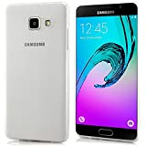 Saxonia Samsung Galaxy A5 (2016) Coque Silicone Clair Case Ultra Mince Premium Soft Flexible TPU Cover Housse Protection Etui Transparent