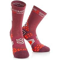 Compressport - Pro Racing Socks V2.1 Winter Bike, Color Marrã³n, Talla EU