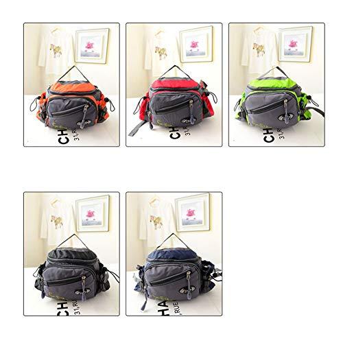 Frhp borsa da pesca leggera e più facile da trasportare rispetto alle scatole borsa da pesca personale multi-funzione con grande capacità anti-furto borsa da pesca borsa da pesca,black