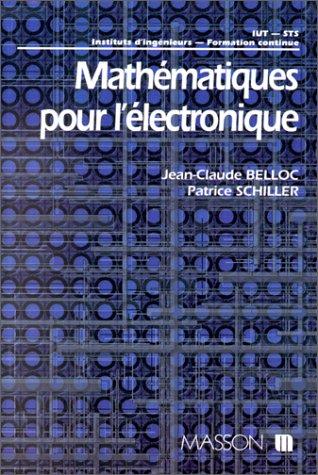 Mathématiques pour l'électronique