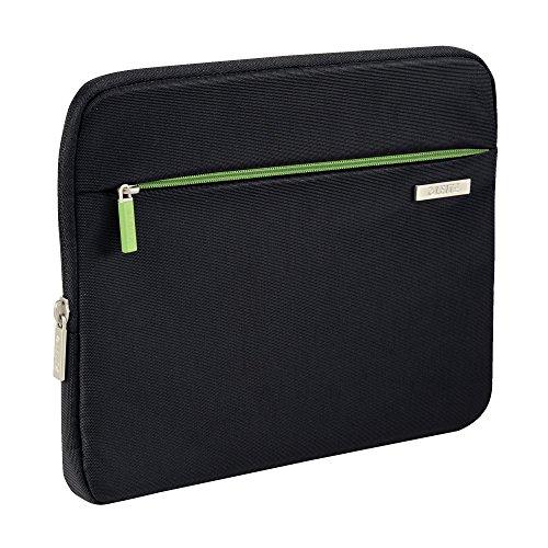 Leitz, Universale Schutzhülle für 10 Zoll Tablet, E-Book-Reader, Smartphones, Akkupacks, Ladegeräte, Polyester, Complete, Schwarz, 62930095