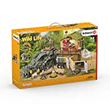 Schleich 42350 - Croco Jungle Research Station