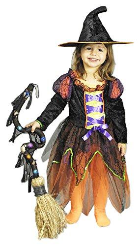 Hexe Lia Kostüm Kinder Gr. 116 128 (Machen Hexe Kostüm)