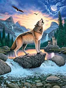 Ravensburger - Call of the Wolf 1000 Piece Jigsaw Puzzle