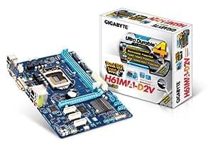 Gigabyte GA-H61MA-D2V Carte mère Intel Micro ATX Socket 1155
