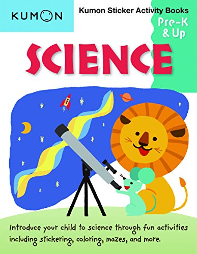 Science Pre K & Up: Sticker Activity Book (Kumon Sticker Activity Books) por Kumon