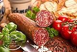 Ahle Wurst nordhessische Spezialität perfekte Geschenkidee – Stracke edel Salami geräuchert am Stück - luftgetrocknete Mettwurst 400g – ausgezeichnet zur besten Wurst 2016 – (fest -geräuchert, 400 gr)