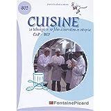 Cuisine CAP-BEP : La technologie de cuisine dans l'entreprise en 50 fiches