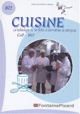 Celine Cap (Cuisine CAP-BEP : La technologie de cuisine dans l'entreprise en 50 fiches)