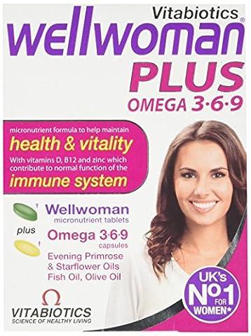 Vitabiotics Wellwoman Plus Omega 3∙6∙9 - 56 Tablets/Capsules