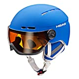 HEAD Knight Skihelm, Blue, 50-54 cm