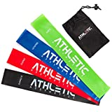 ATHLETIC AESTHETICS Premium Loop Bands Set [4 Fitnessbänder mit praktischem