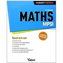 Maths MPSI - Tout-en-un - Conforme au nouveau programme