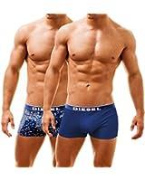 Diesel Men's 2 Pack Boxer Trunks