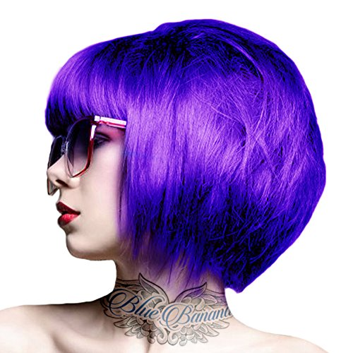 crazy color coloration pour cheveux semi permanente 100ml violet - Coloration Violet Cheveux