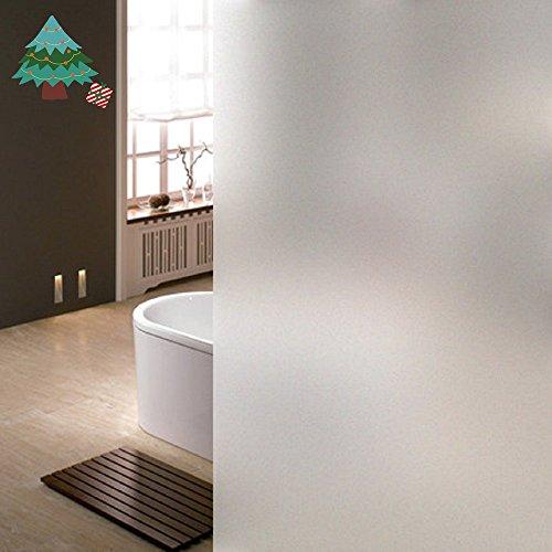 Lifetree 018 Fensterfolie Sichtschutzfolie Statisch Folie Selbstklebend 90*200cm /Milchglasfolie