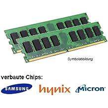 4GB (2x 2GB) DDR2800mhz (PC2–6400U) lo DIMM memoria RAM memoria Hynix Samsung Micron