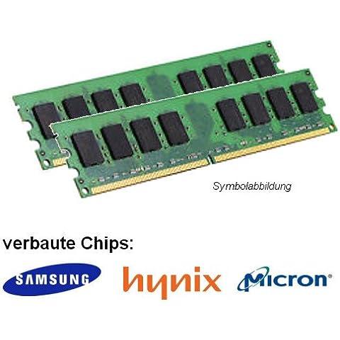2GB Dual Channel kit (2x 1GB) para Dell OptiPlex 320DDR2(PC24200U) DIMM Memoria Unbuffered trabajo