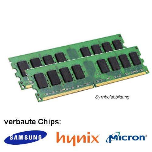 4GB (2x 2GB) DDR2 800MHz (PC2 6400U) LO Dimm Computer PC Desktop Arbeitsspeicher RAM Memory Samsung Hynix Micron (Desktop Ram Ddr2)