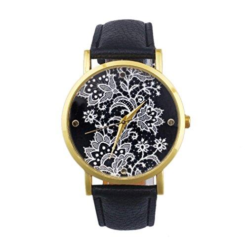 tonsee-womens-fashion-round-lace-printed-faux-leather-quartz-analog-dress-wrist-watch-black