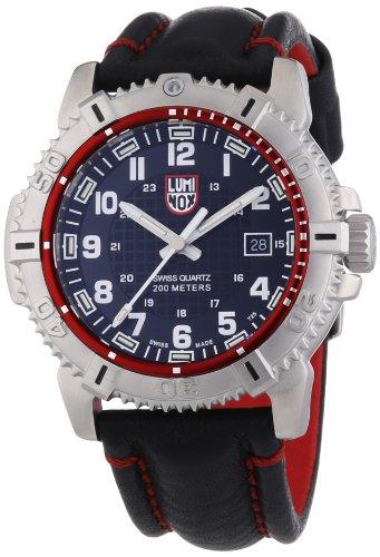 Luminox 09LX6265 - Reloj para hombres, correa de cuero color negro