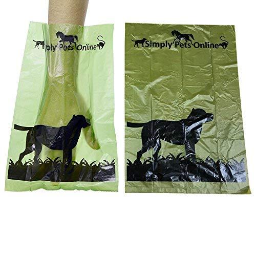 Poo Taschen von Tierärzten entworfen, 180 Beutel (12 Rollen à 15 Beutel)  ()