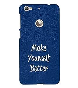 Ebby Designer Printed 3D High Quality Mobile Back Case Cover For LeEco LeTv 1s (Premium Matte Finishing Back Case )