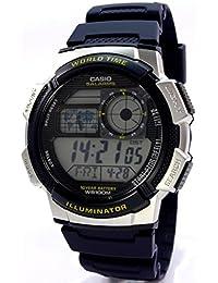 Casio Hombre de reloj de pulsera digital de cuarzo Resin AE 1000W de 2AVEF