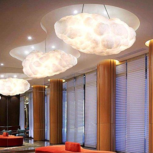 @Beleuchtung Dekoration Schwimmende Cloud Droplight Weiße Wolken Hängeleuchte Moderne Baumwolle Pendelleuchten Leuchte Hause Innenbeleuchtung E27 Lampe AC90-260V