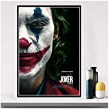 caomei Joker Poster Comic Art Canvas Painting Wall Pictures for Living Room Home Decor 60cmx80cm no Frame