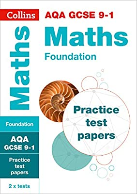 AQA GCSE 9-1 Maths Foundation Practice Test Papers (Collins GCSE 9-1 Revision) by Collins