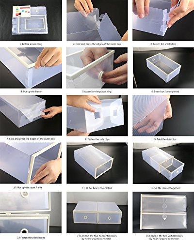 Zoom IMG-3 vinteky scatole a cassetti impilabili