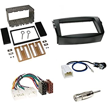 Radio Blende Autoradio Einbau Rahmen Adapter Kabel ISO TOYOTA Corolla Verso