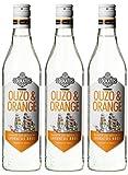 Loukatos Ouzo & Orange Liköre (3 x 0.7 l)