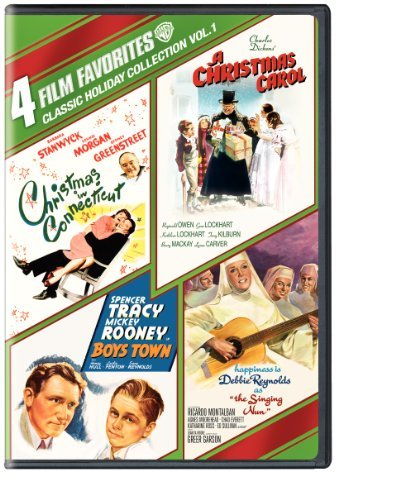 4 Film Favorites: Classic Holiday Vol. 1 (Boys Town, A Christmas Carol, Christmas in Connecticut, The Singing Nun) by Various (Carol-dvd Christmas)
