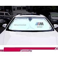 YIKA Parasol para Parabrisas de Coche – bloquea los Rayos UV, Protector de Visera Solar, Parasol para Mantener tu vehículo Fresco y Libre de Daños, para BMW