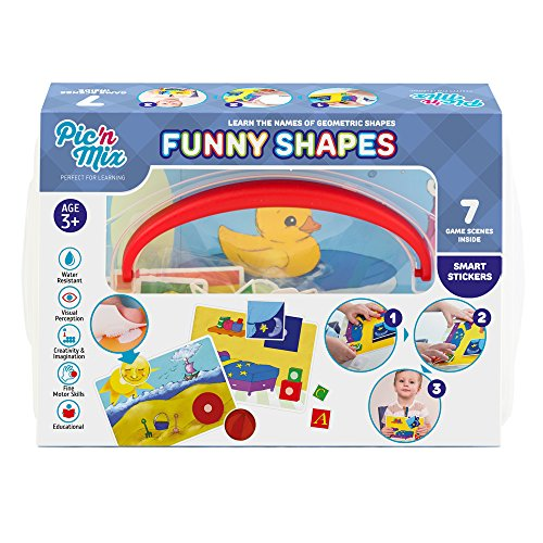 Picnmix Funny Shapes Educational Puzzle Game and Learning Toy for 3 year olds to 7 year olds