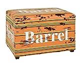 HAKU Möbel 30957 Sitztruhe, 40 x 65 x 42 cm, vintage