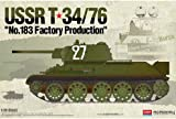 Picture Of 1/35 USSR T34/76 No.183 Factory Production #13505 ACADEMY MODEL KIT
