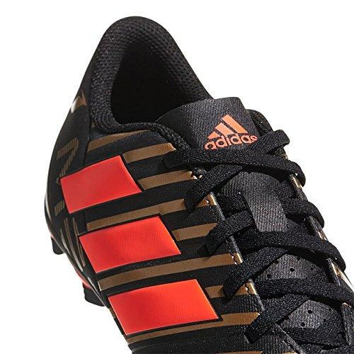 adidas Herren Nemeziz Messi 17.4 FxG Fußballschuhe Schwarz (Cblack/Solred/Tagome)