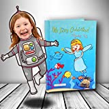 Hardback Personalisiertes Kinder Buch mit Foto Ihres Kindes in der Hauptrolle der Buch. My fairygodmother