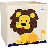 ELLEMOI Aufbewahrungsboxen für Kinderzimmer Große Kapazität Faltbar Aufbewahrung Spielzeug, Kleidung, Schuhe Aufbewahrungsbox