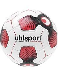 Uhlsport Tri Concept 2.0Mission balón de Match color blanco/negro/rojo, talla 4