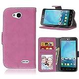 BONROY LG L90 Case, LG L90 Retro Matte Leather PU Phone