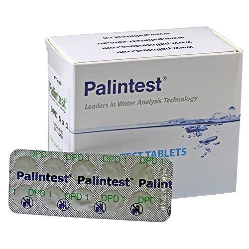 250 DPD 1 rapid comprimés de test (25 bandes) pour testeur chlore de piscine de PALIN Test   piscine Whirlpool Eau Analyse piscine Test   Recharge chlore