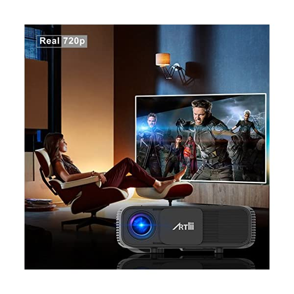 Retroprojecteur-HD-Artlii-Video-projecteur-1280x800p-3D-Projecteurs-LED-Relier-Ordinateur-Portable-PC-iPhone-Smartphone-pour-Jeux-Video-Films