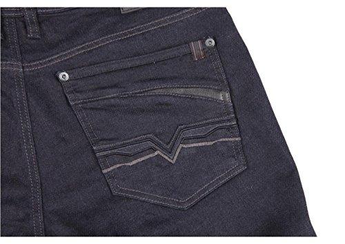 ACCEDE Herren Jeanshose Metal blue