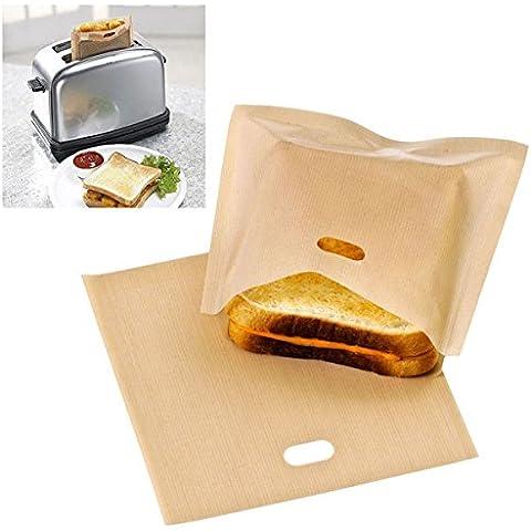 Pink Lizard Busta riutilizzabile tostapane borse panino non bastone borse alimentari sacchetto del pane tostato riscaldamento