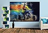 Premium Foto-Tapete Quad, extrem cool (verschiedene Größen) (Size M | 279 x 186 cm) Design-Tapete, Vlies-Tapete, Wand-Tapete, Wand-Dekoration, Photo-Tapete, Markenqualität von ERFURT
